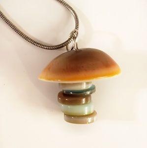 Jewelry - Mushroom necklace